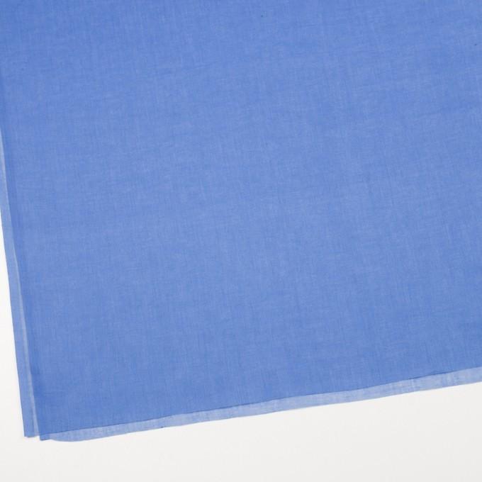 コットン×無地(ダッジブルー)×ボイル_全9色_フランス製 イメージ2