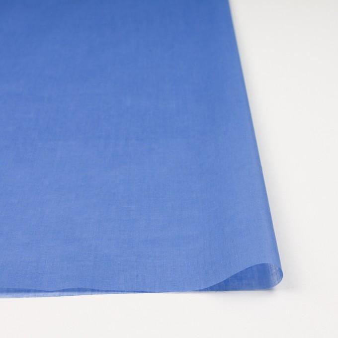 コットン×無地(ダッジブルー)×ボイル_全9色_フランス製 イメージ3
