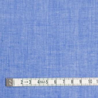コットン×無地(ダッジブルー)×ボイル_全9色_フランス製 サムネイル4