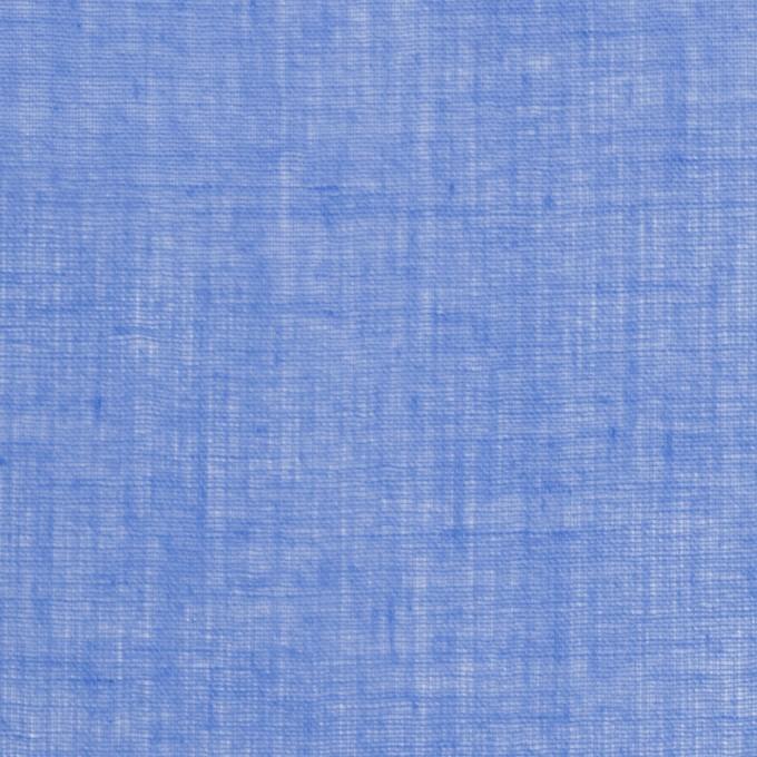コットン×無地(ダッジブルー)×ボイル_全9色_フランス製 イメージ1
