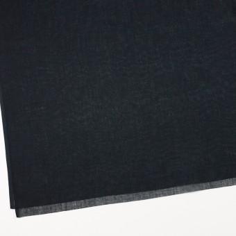 コットン×無地(ブラック)×ボイル_全9色_フランス製 サムネイル2