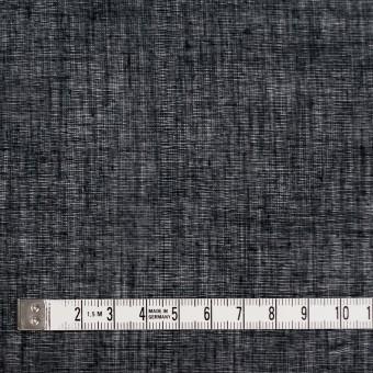 コットン×無地(ブラック)×ボイル_全9色_フランス製 サムネイル4