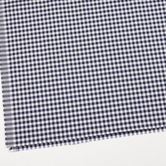 コットン&ポリウレタン×チェック(ネイビー)×サージストレッチ_全3色 サムネイル2