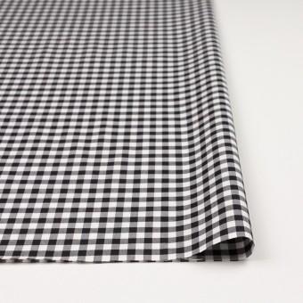 コットン&ポリウレタン×チェック(ブラック)×サージストレッチ_全3色 サムネイル3