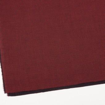 コットン×チェック(レッド&ブラック)×Wガーゼ_全3色 サムネイル2