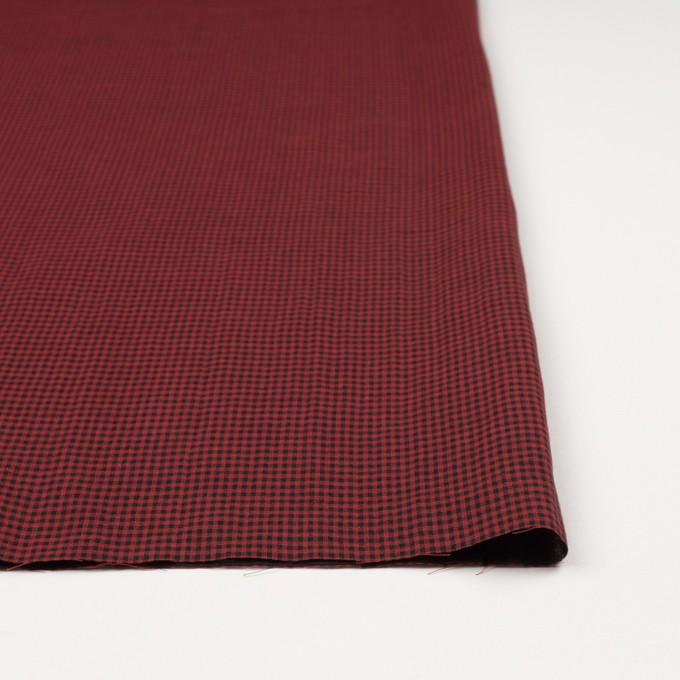 コットン×チェック(レッド&ブラック)×Wガーゼ_全3色 イメージ3