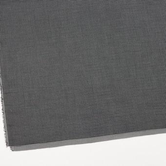 コットン×チェック(グレー&ブラック)×Wガーゼ_全3色 サムネイル2