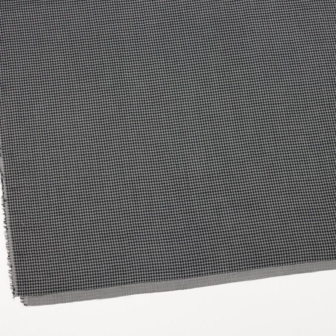コットン×チェック(グレー&ブラック)×Wガーゼ_全3色 イメージ2