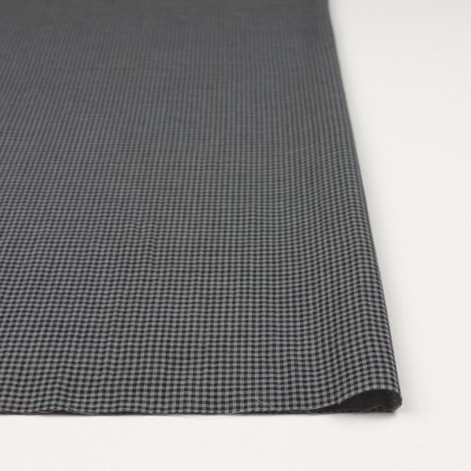 コットン×チェック(グレー&ブラック)×Wガーゼ_全3色 イメージ3