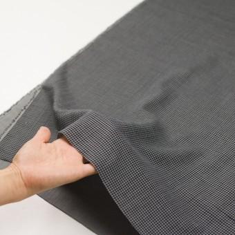 コットン×チェック(グレー&ブラック)×Wガーゼ_全3色 サムネイル5