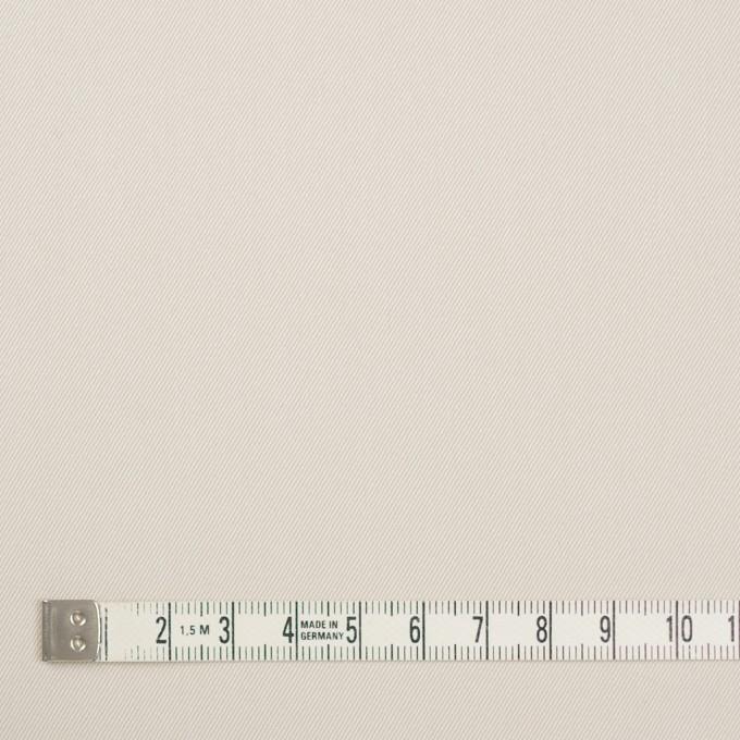 コットン&キュプラ×無地(アイボリー)×ギャバジン_全4色 イメージ4