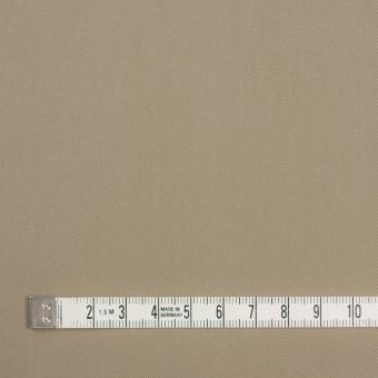 コットン&キュプラ×無地(カーキベージュ)×ギャバジン_全4色 サムネイル4