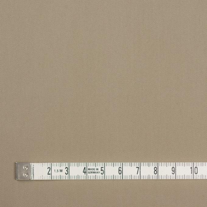 コットン&キュプラ×無地(カーキベージュ)×ギャバジン_全4色 イメージ4