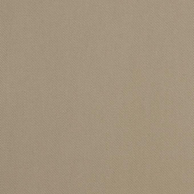 コットン&キュプラ×無地(カーキベージュ)×ギャバジン_全4色 イメージ1