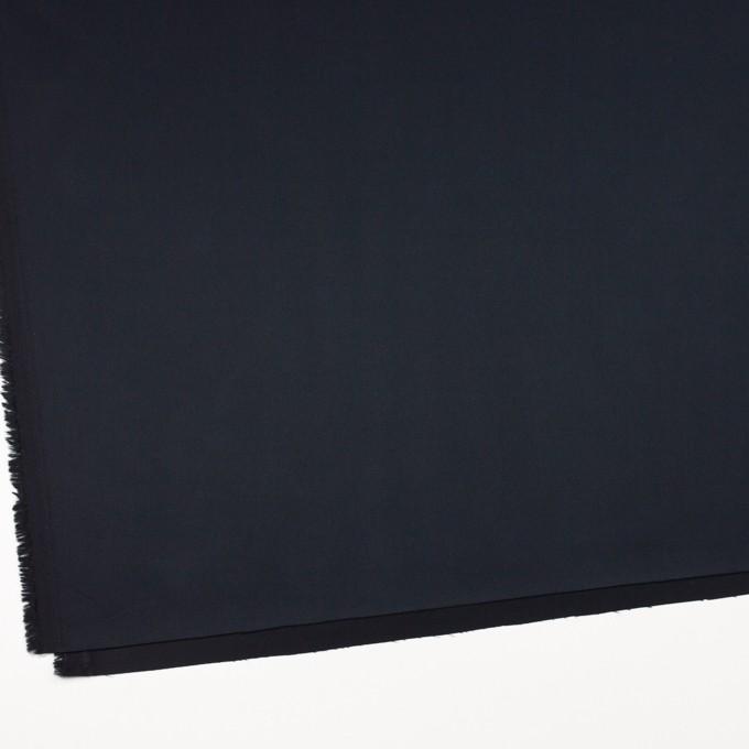 コットン&キュプラ×無地(ブラック)×ギャバジン_全4色 イメージ2