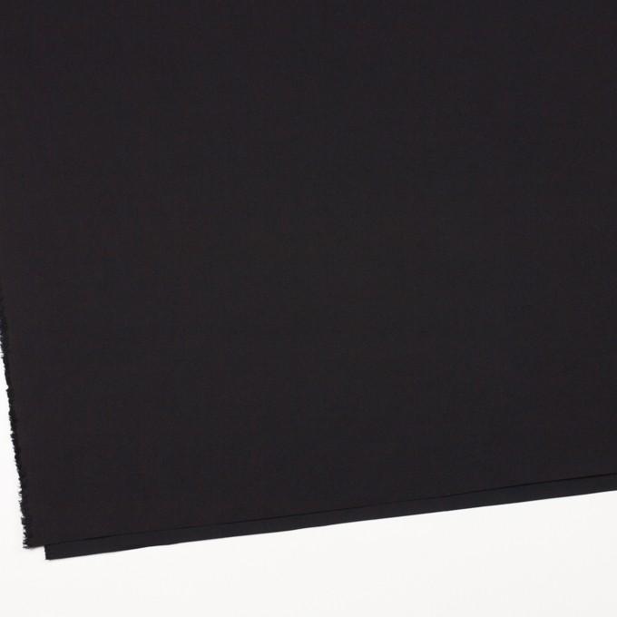 コットン×無地(ブラック)×ポプリンワッシャー_全2色 イメージ2