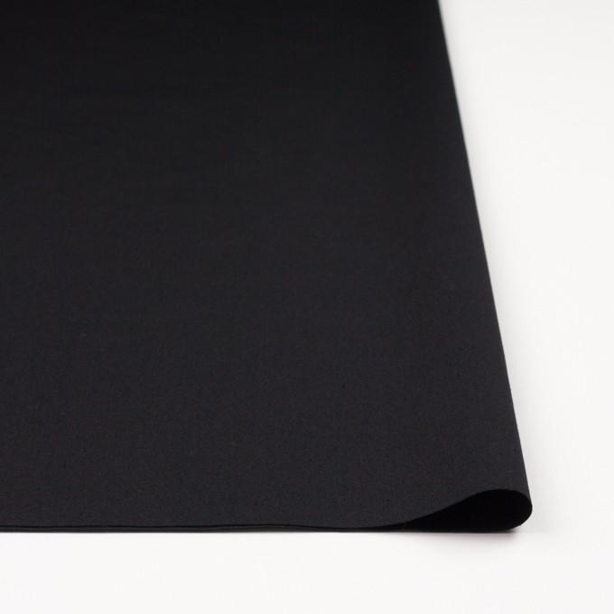 コットン×無地(ブラック)×ポプリンワッシャー_全2色 イメージ3