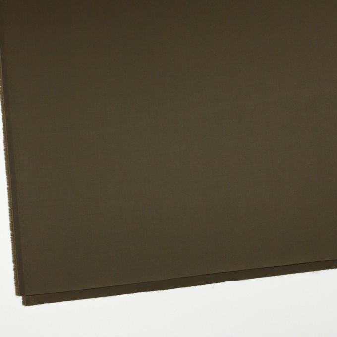 コットン×無地(カーキグリーン)×サテン_全2色 イメージ2