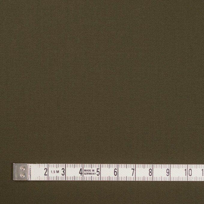 コットン×無地(カーキグリーン)×サテン_全2色 イメージ4