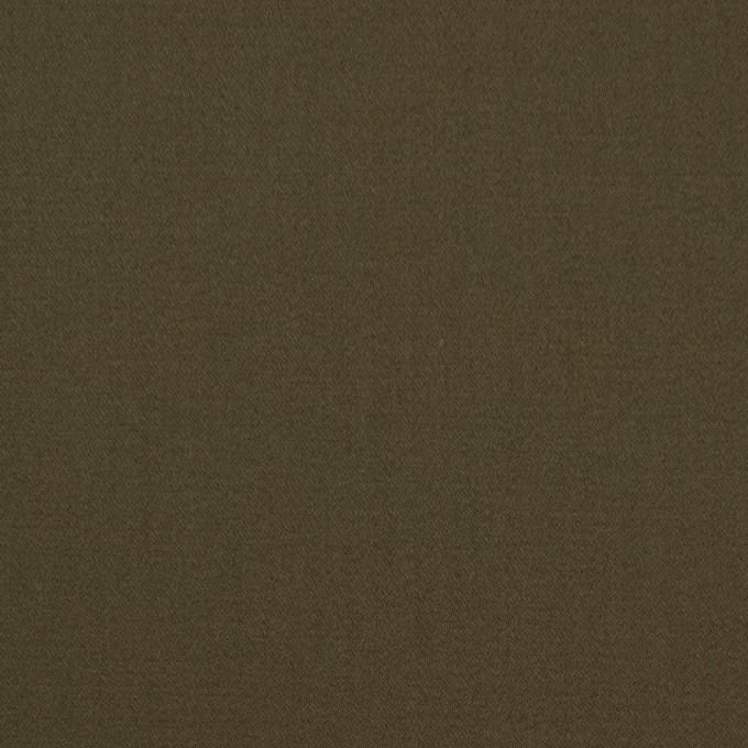 コットン×無地(カーキグリーン)×サテン_全2色 イメージ1