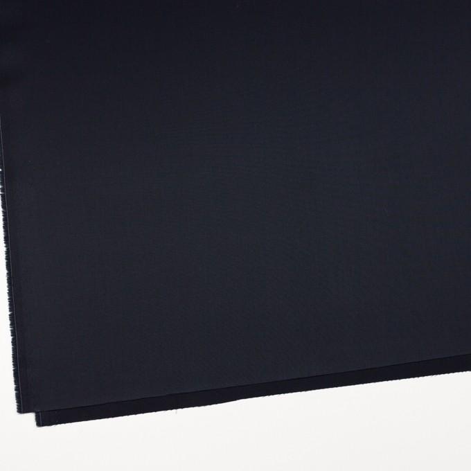 コットン×無地(ダークネイビー)×サテン_全2色 イメージ2