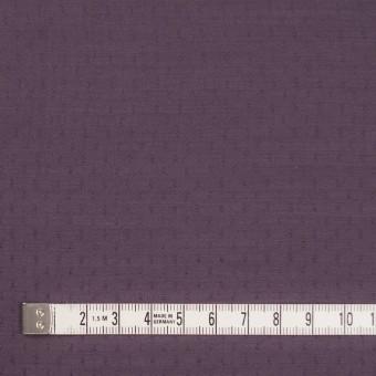 ポリエステル×ドット(プラムパープル)×薄サージジャガード_全3色 サムネイル4