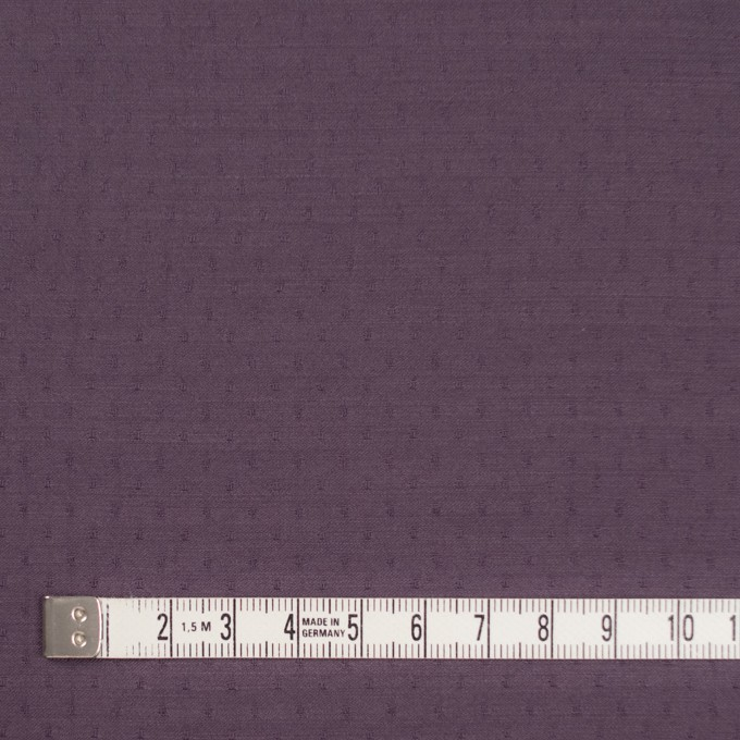 ポリエステル×ドット(プラムパープル)×薄サージジャガード_全3色 イメージ4