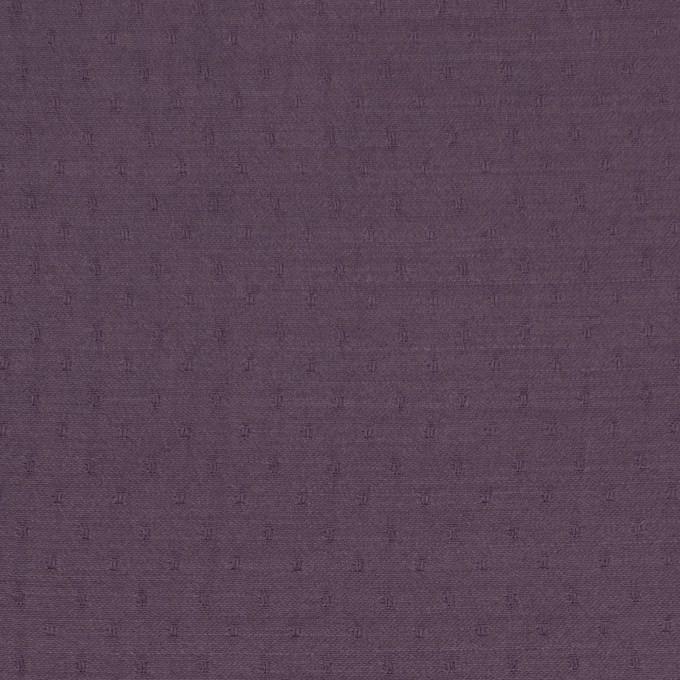 ポリエステル×ドット(プラムパープル)×薄サージジャガード_全3色 イメージ1