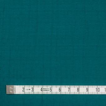 ポリエステル×ドット(クロムグリーン)×薄サージジャガード_全3色 サムネイル4