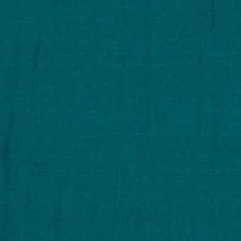 ポリエステル×ドット(クロムグリーン)×薄サージジャガード_全3色