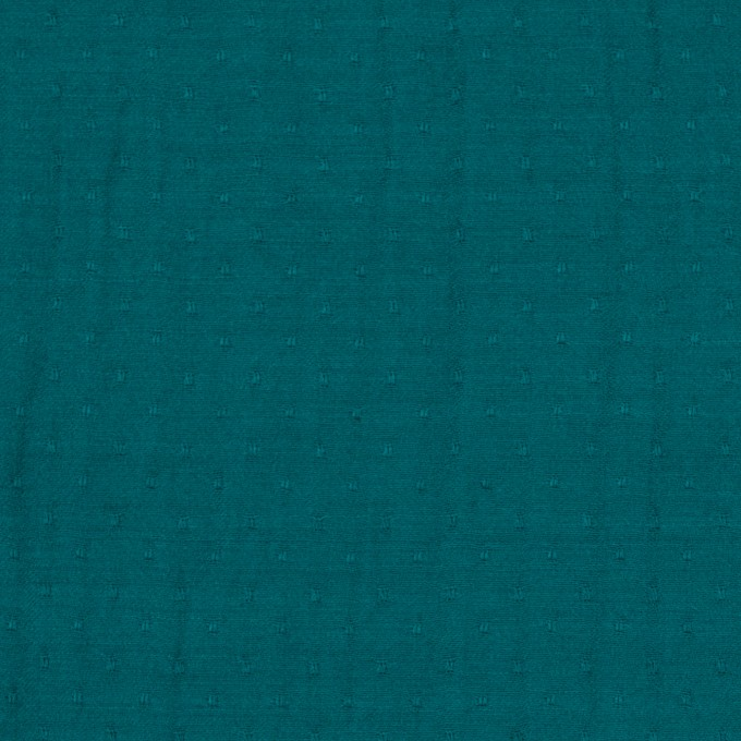 ポリエステル×ドット(クロムグリーン)×薄サージジャガード_全3色 イメージ1