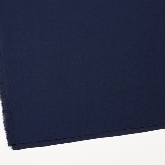 ポリエステル×ドット(ネイビー)×薄サージジャガード_全3色 イメージ2
