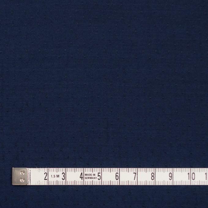 ポリエステル×ドット(ネイビー)×薄サージジャガード_全3色 イメージ4