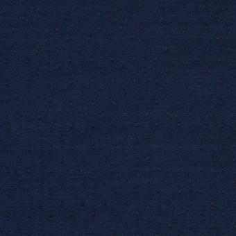 ポリエステル×ドット(ネイビー)×薄サージジャガード_全3色