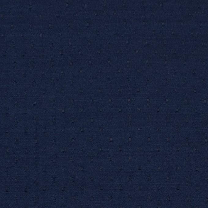 ポリエステル×ドット(ネイビー)×薄サージジャガード_全3色 イメージ1
