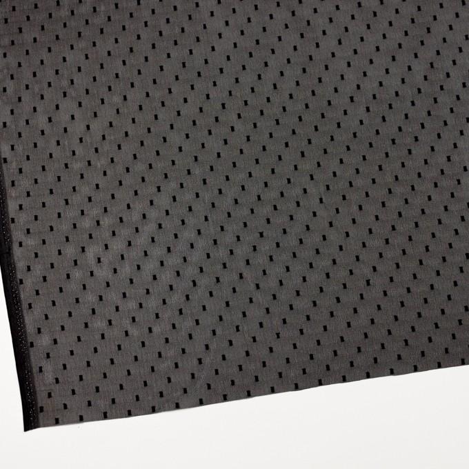 ポリエステル×スクエア(ブラック)×ジョーゼットジャガード イメージ2