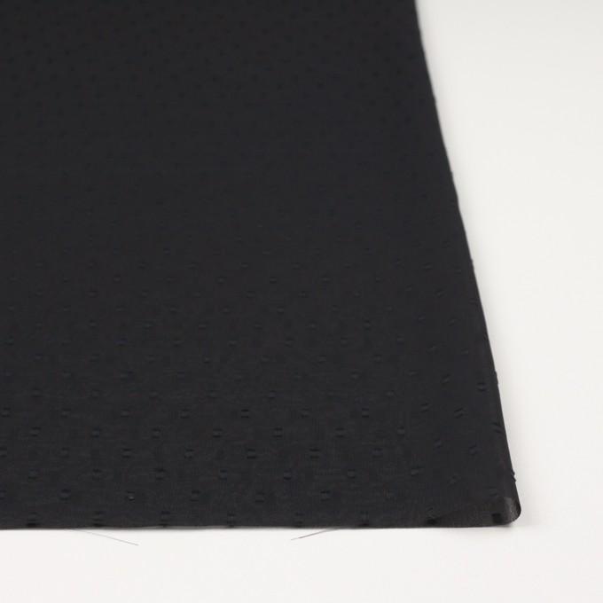 ポリエステル×スクエア(ブラック)×ジョーゼットジャガード イメージ3