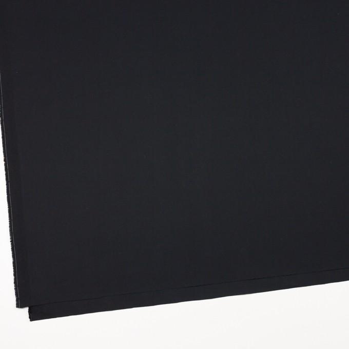 コットン×無地(ブラック)×ギャバジン_全4色 イメージ2