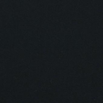 コットン×無地(ブラック)×ギャバジン_全4色 サムネイル1