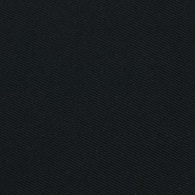 コットン×無地(ブラック)×ギャバジン_全4色 イメージ1