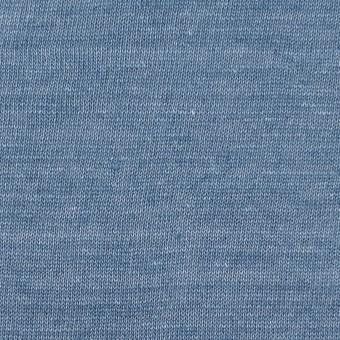 リネン×無地(ブルーグレー)×天竺ニット サムネイル1