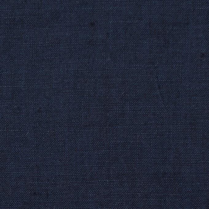 リネン×無地(ネイビー)×薄キャンバス_全2色 イメージ1