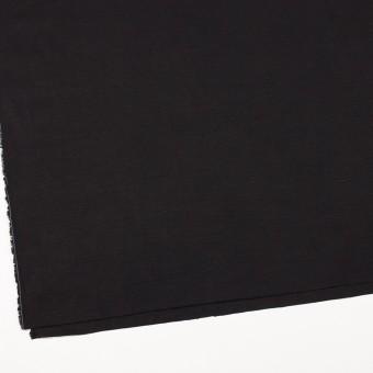 コットン&リネン混×無地(ブラック)×薄キャンバス サムネイル2