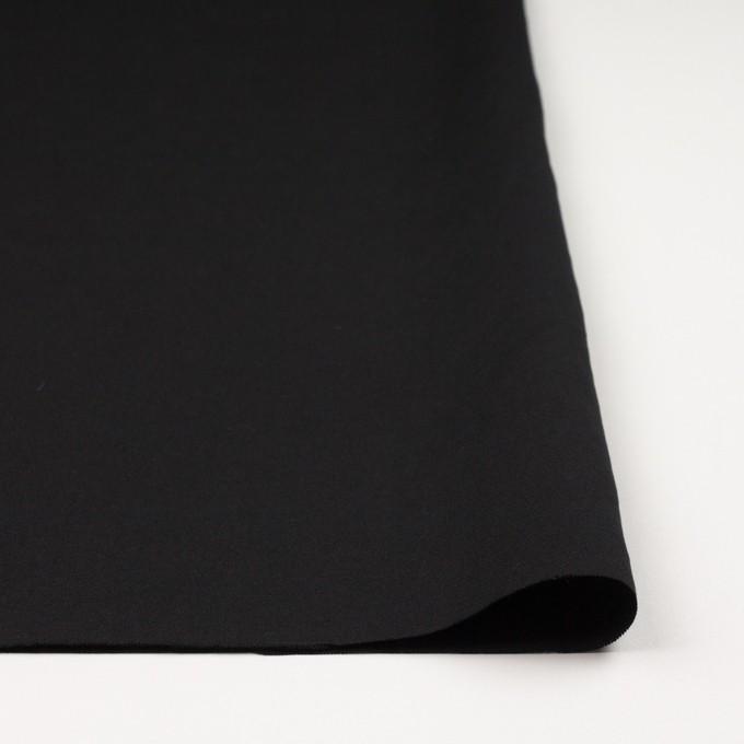 コットン&リネン混×無地(ブラック)×薄キャンバス イメージ3