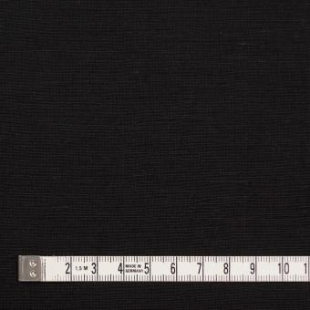 コットン&リネン混×無地(ブラック)×薄キャンバス サムネイル4