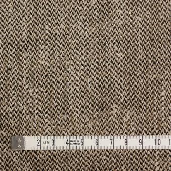 リネン×ミックス(ゴールド&ブラック)×かわり織 サムネイル4