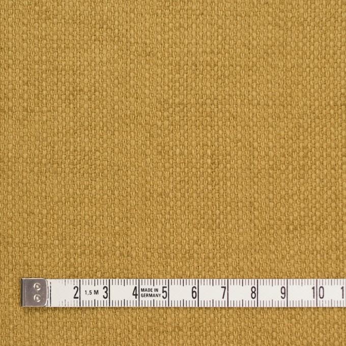 コットン×無地(マスタード)×ホップサック(斜子織)_全2色 イメージ4
