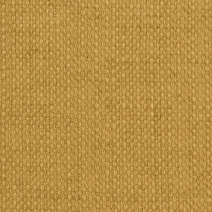 コットン×無地(マスタード)×ホップサック(斜子織)_全2色 イメージ1