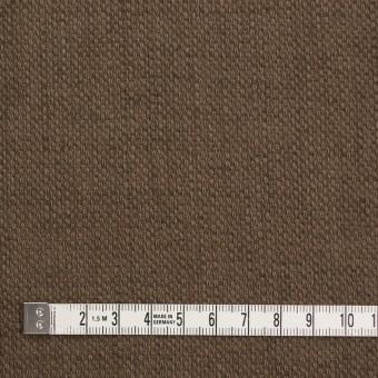 コットン×無地(ブラウン)×ホップサック(斜子織)_全2色 サムネイル4