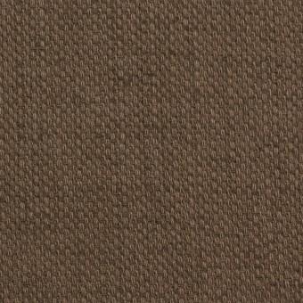 コットン×無地(ブラウン)×ホップサック(斜子織)_全2色 サムネイル1